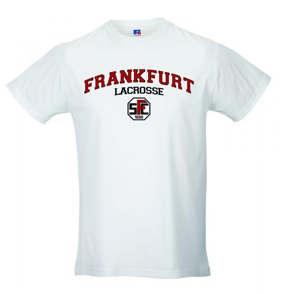 Artikelbild 1 des Artikels T-Shirt Herren weiss mit Druck Lacrosse Logo