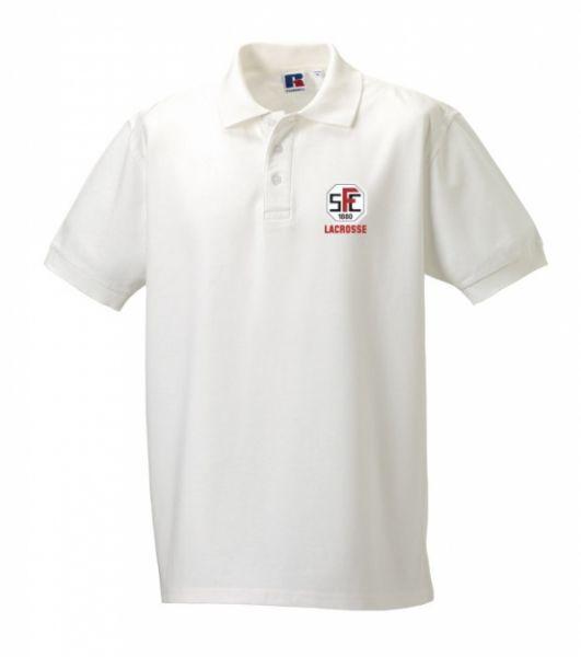 Artikelbild 1 des Artikels Polo Shirt Herren weiss mit Stick Logo