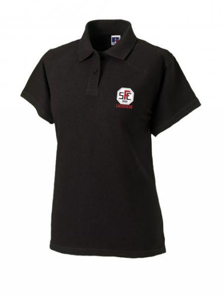 Artikelbild 1 des Artikels Polo Shirt Damen schwarz mit Stick Logo